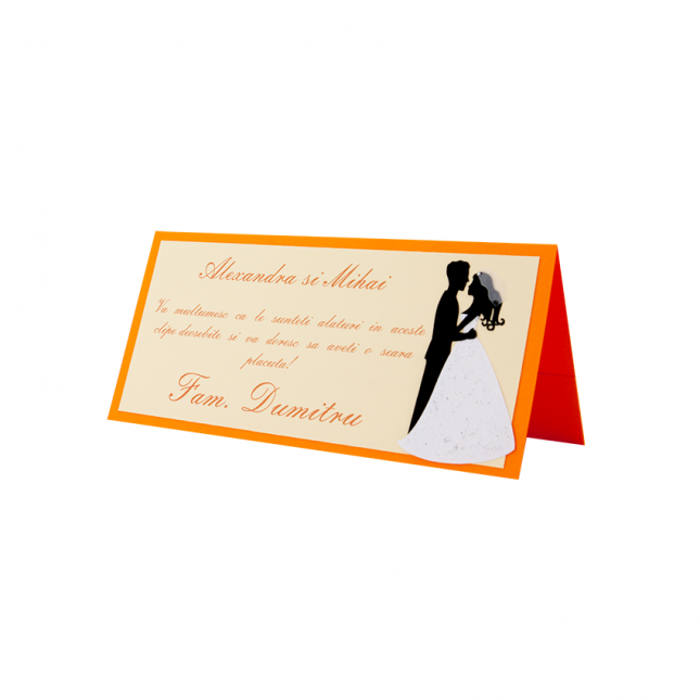Creative Designs | Place Card Nunta - 017 - 01