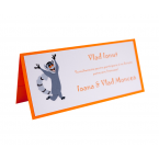 Card Asezare Botez Madagascar - King Julien