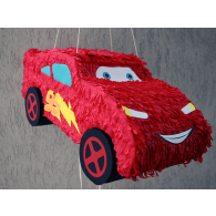 Pinata Fulger McQueen - Cars | Creative art Designs