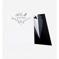 Creative Designs | Invitatie Nunta Alb-Negru