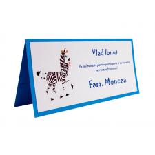 Card Asezare Botez Madagascar - Marty