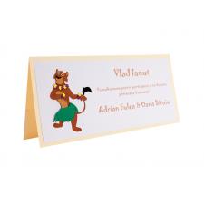 Card Asezare Botez Madagascar - Florrie