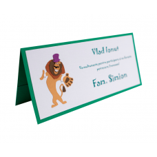 Card Asezare Botez Madagascar - Alex