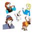 Creative Designs   Cadou personaj Kristoff Frozen